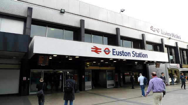 Estación de Euston Londres